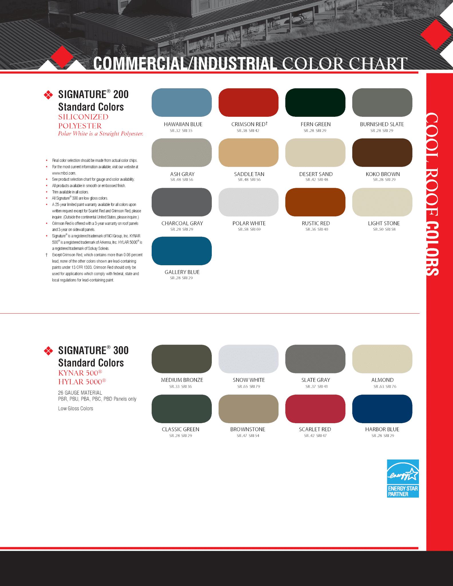 Color-chart_Page_1-FMP-Steel-Buildings